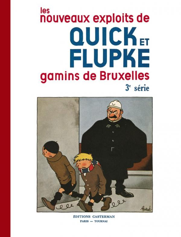 QUICK ET FLUPKE T3 GAMINS DE BRUXELLES FAC SIMILE (N&B)