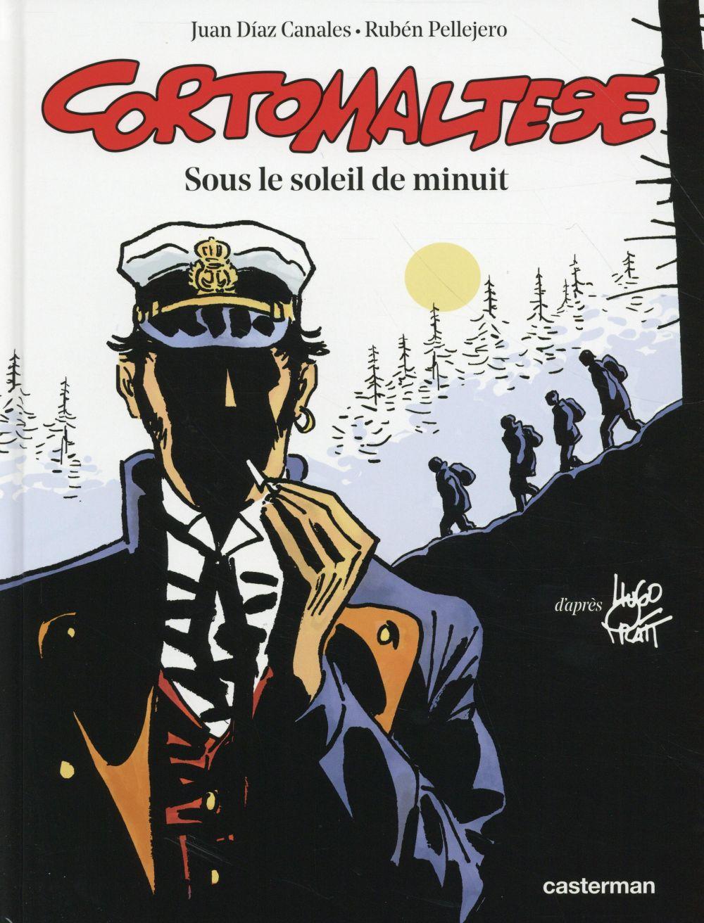 EDITION COULEURS - SOUS LE SOLEIL DE MINUIT - D'APRES L'OEUVRE D' HUGO PRATT