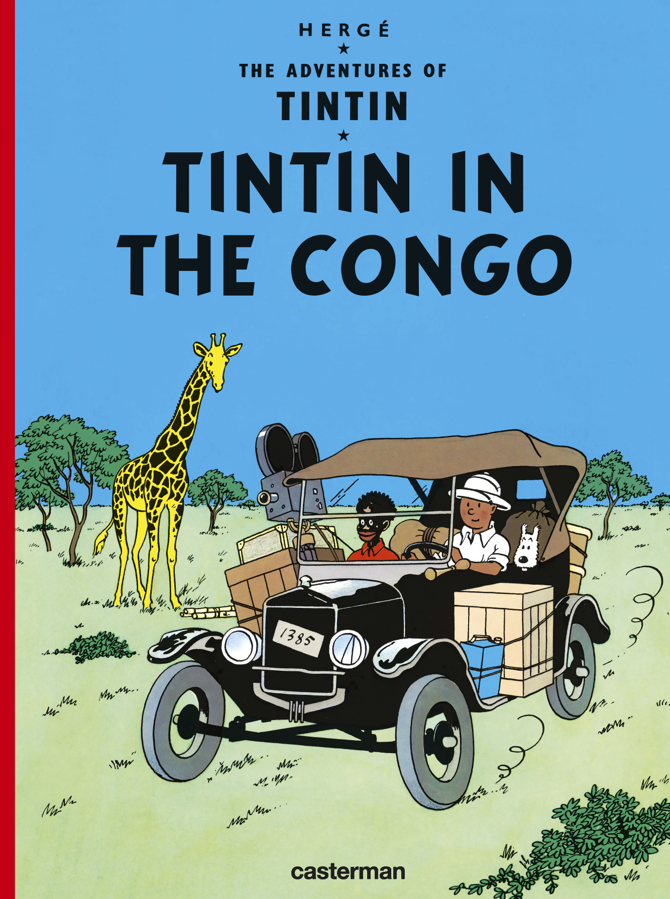 *GB TINTIN IN THE CONGO CASTERMAN