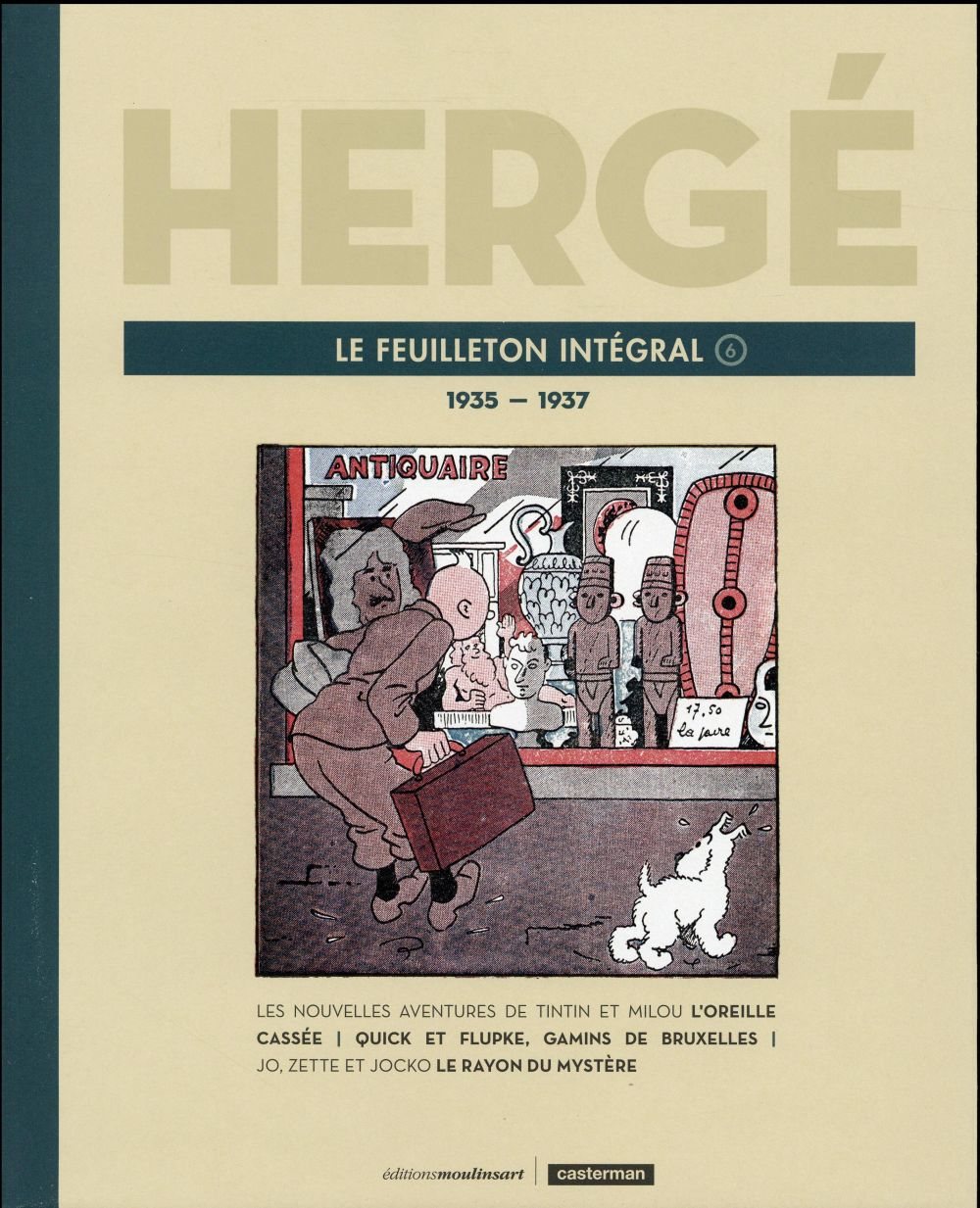 HERGE LE FEUILLETON INTEGRAL - 1935-1937 T6