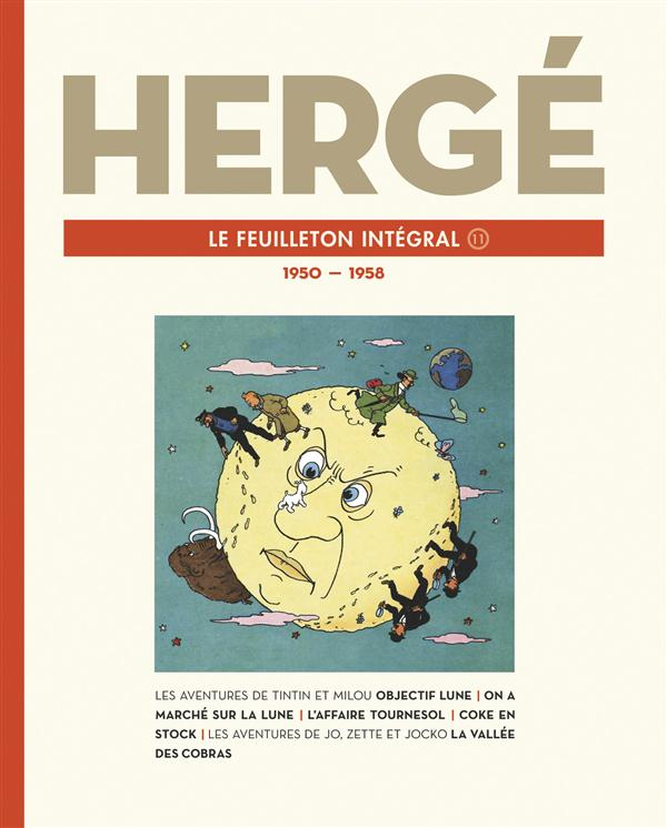 HERGE LE FEUILLETON INTEGRAL - 1950-1958