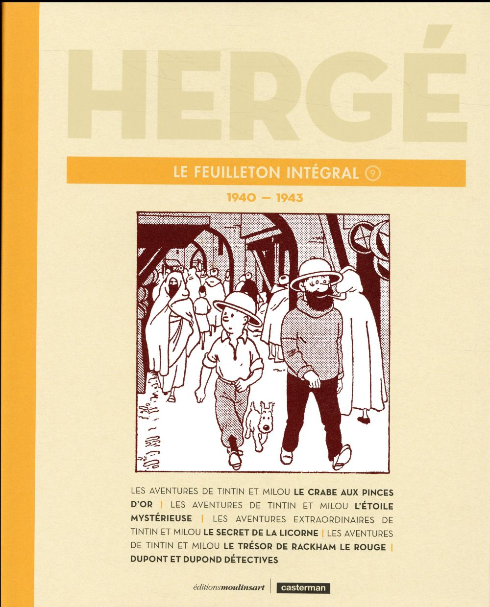 HERGE LE FEUILLETON INTEGRAL - 1940-1943 T9