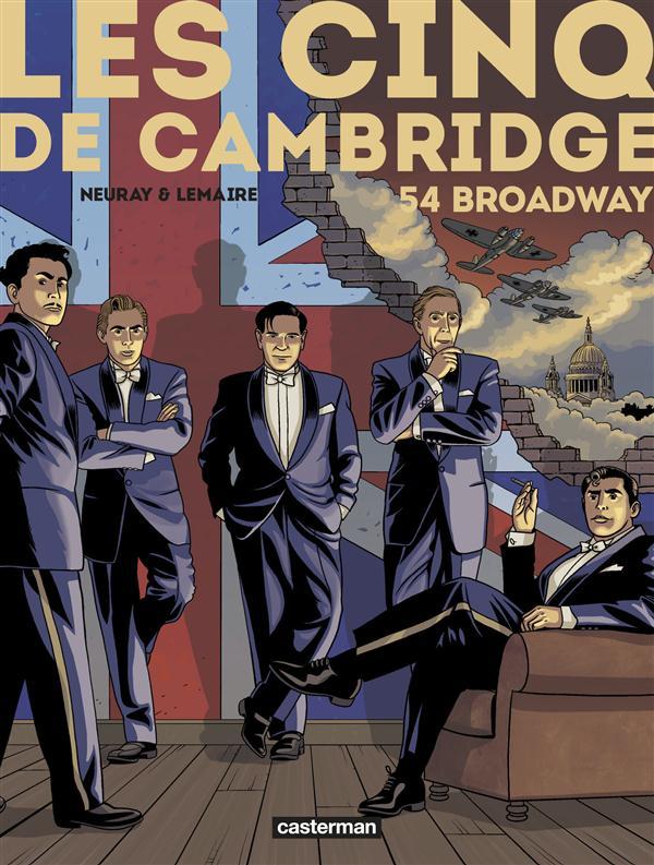 LES CINQ DE CAMBRIDGE T2 54 BROADWAY