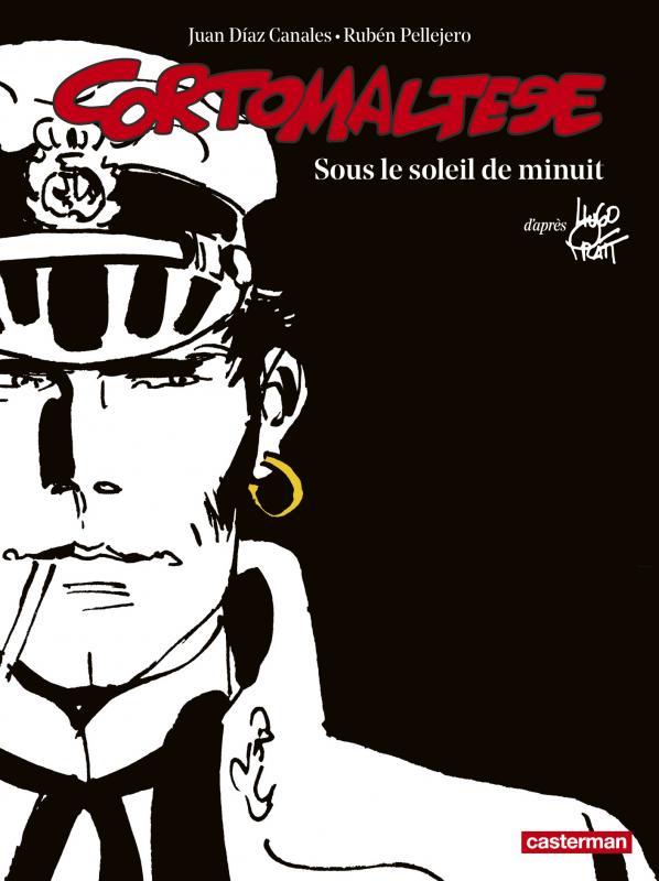 EDITION NOIR ET BLANC - SOUS LE SOLEIL DE MINUIT - D'APRES L'OEUVRE D' HUGO PRATT