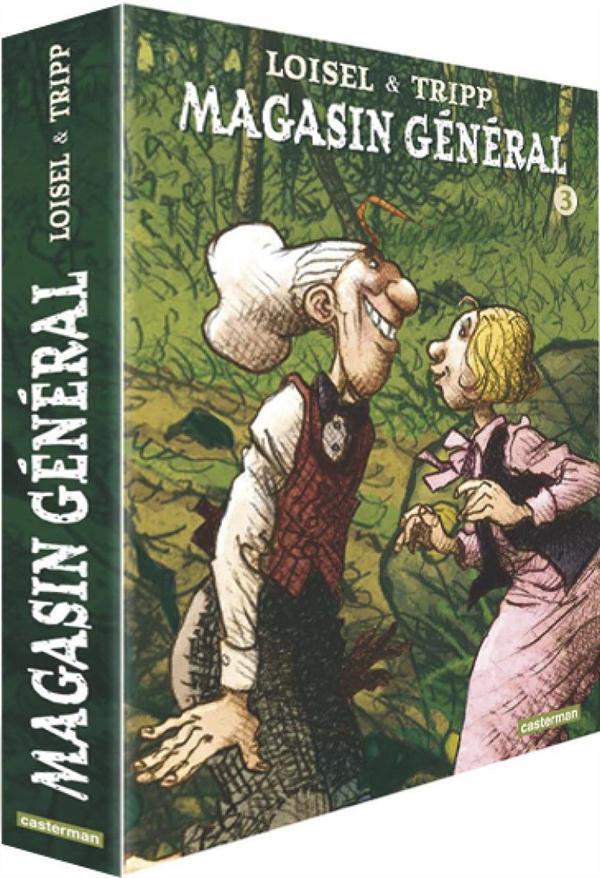 COFFRET VIDE MAGASIN GENERAL T 7 8 9.