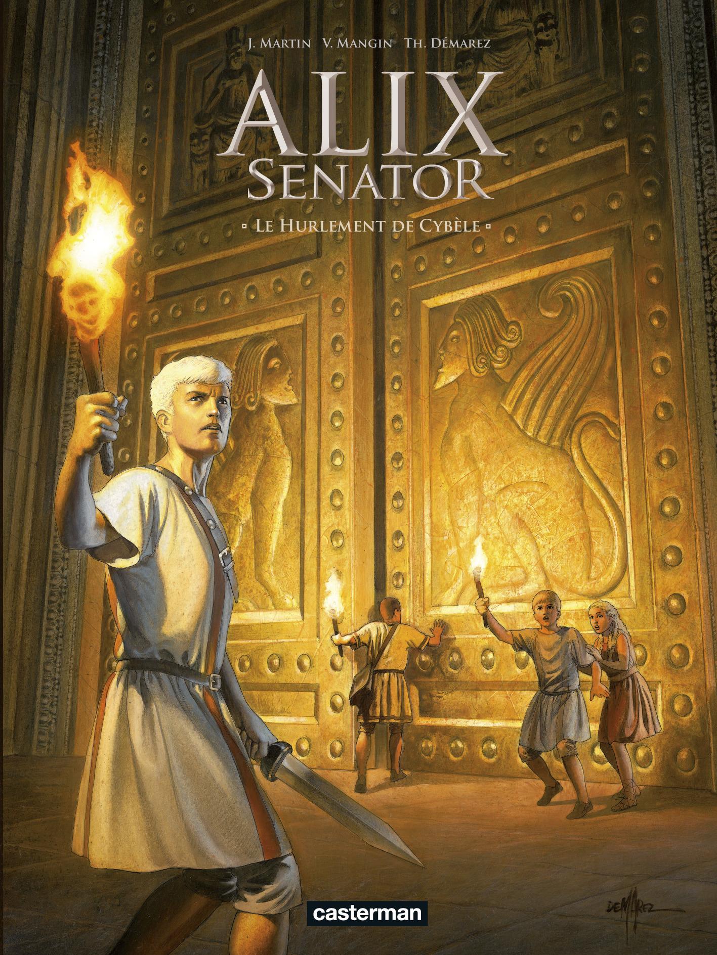 Alix Senator (Tome 5) - Le Hurlement de Cybèle