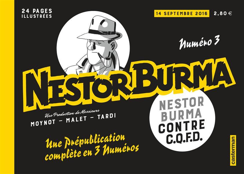 NESTOR BURMA CONTRE CQFD - PREPUBLICATION