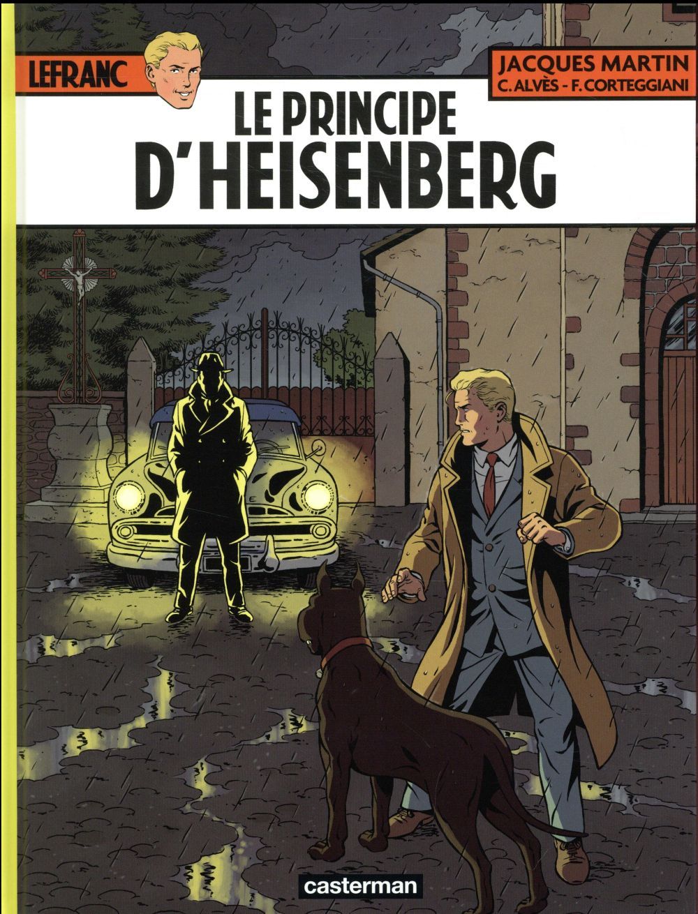LEFRANC T28 LE PRINCIPE D'HEISENBERG