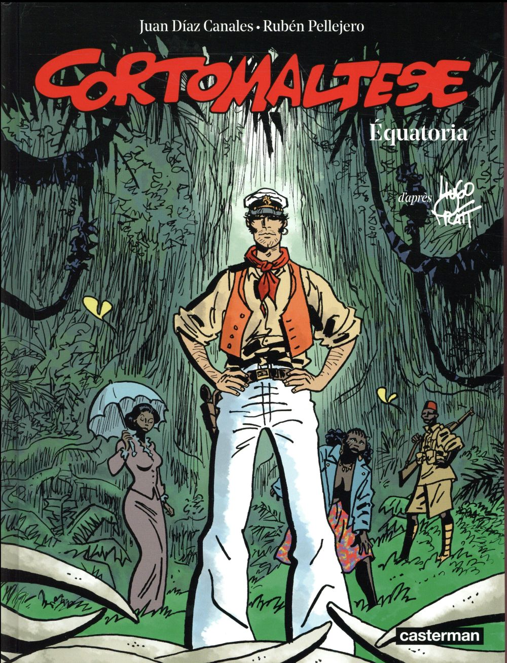 CORTO MALTESE T14 EQUATORIA (COULEURS)
