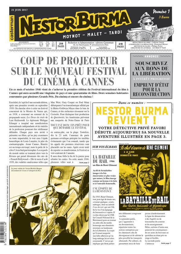 NESTOR BURMA L'HOMME AU SANG BLEU JOURNAL N 1