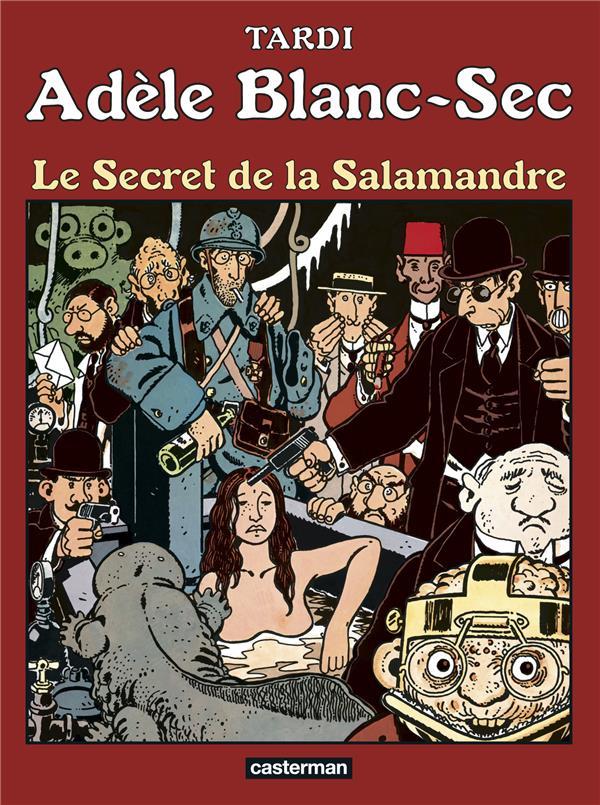 LE SECRET DE LA SALAMANDRE - ADELE BLANC-SEC - T5