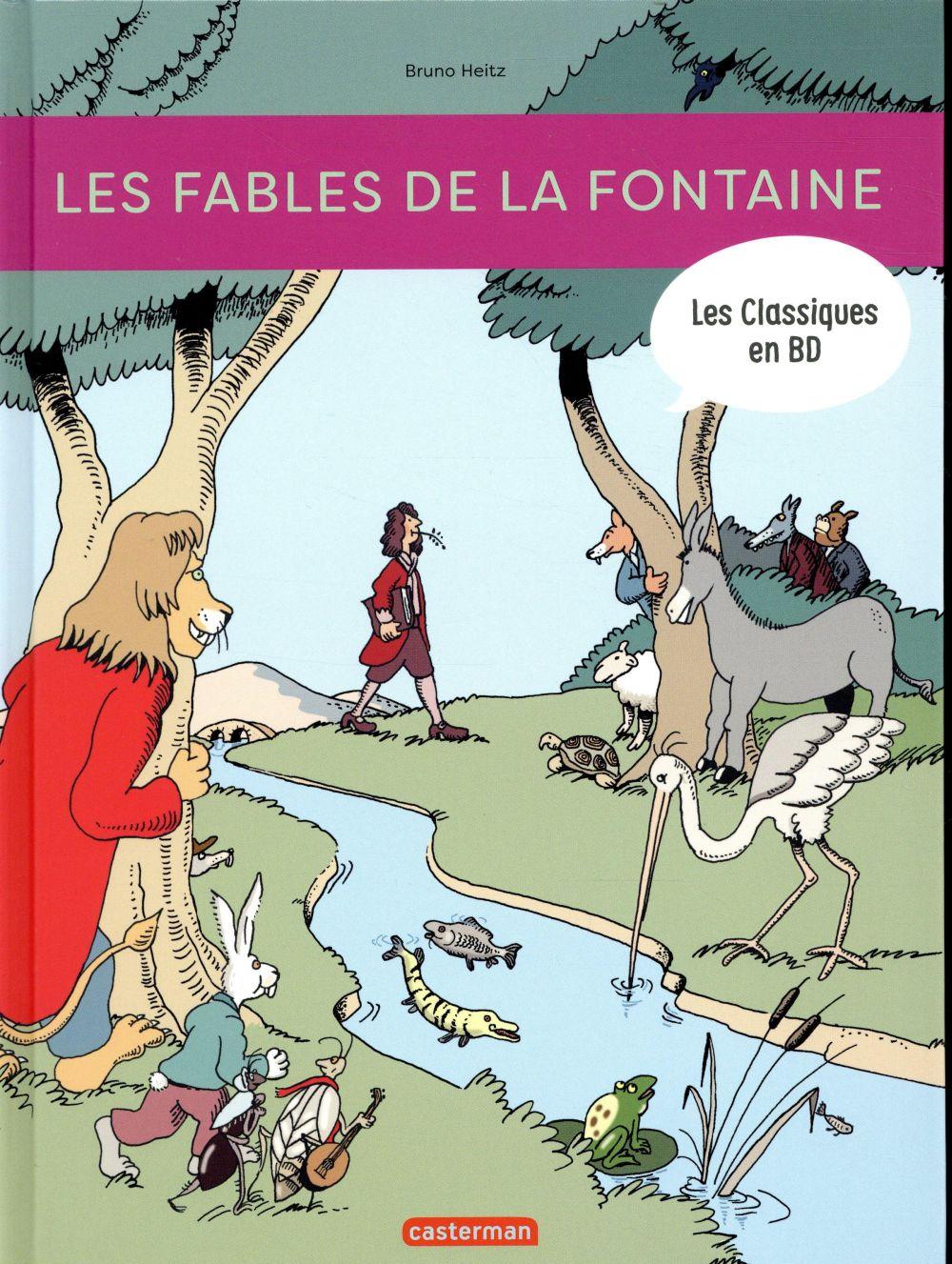 LES FABLES DE LA FONTAINE (BD)