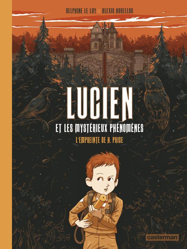 L'EMPREINTE DE H. PRICE - LUCIEN ET LES MYSTERIEUX PHENOMENES - T01