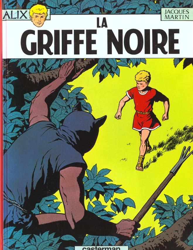ALIX, LES ALBUMS - LA GRIFFE NOIRE