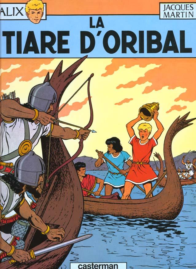 ALIX, LES ALBUMS - T4 - LA TIARE D'ORIBAL