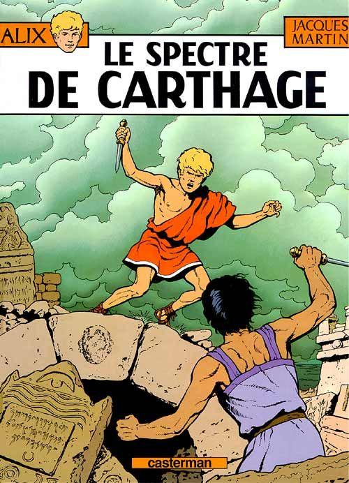 ALIX, LES ALBUMS - LE SPECTRE DE CARTHAGE