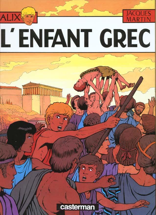 L' ENFANT GREC - ALIX - T15