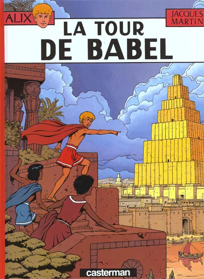 ALIX, LES ALBUMS - LA TOUR DE BABEL