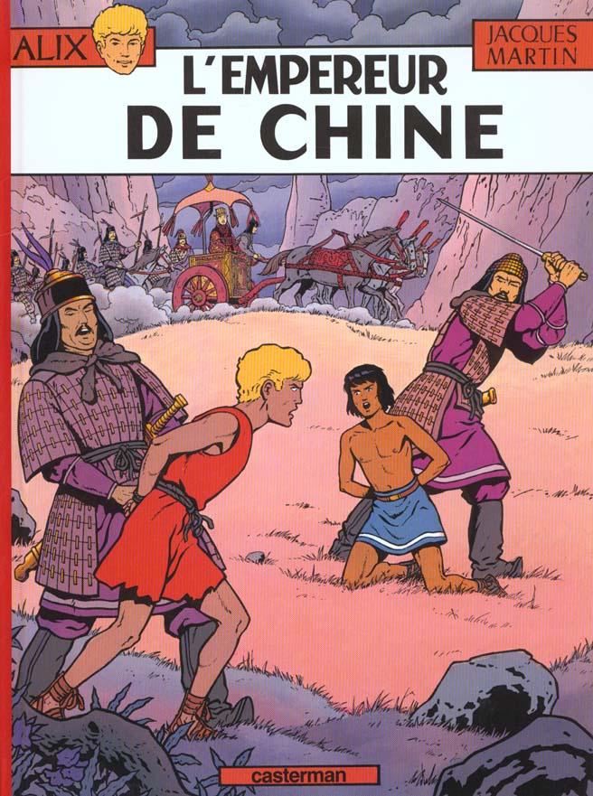 L' EMPEREUR DE CHINE - ALIX - T17