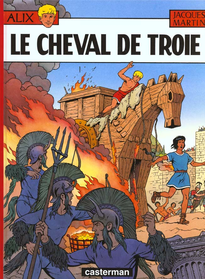ALIX, LES ALBUMS - LE CHEVAL DE TROIE