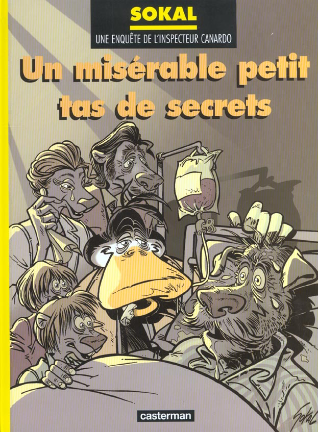 CANARDO T11 UN MISERABLE PETIT TAS DE SECRETS