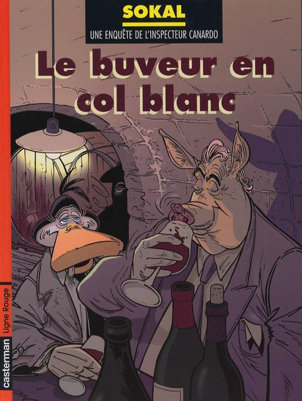 CANARDO T13 LE BUVEUR EN COL BLANC
