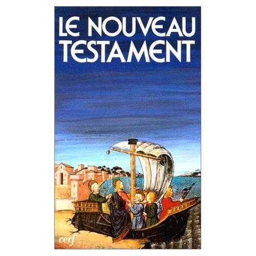 NOUVEAU TESTAMENT DE LA BIBLE DE JERUSALEM
