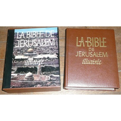 BIBLE DE JERUSALEM ILLUSTREE PHOTOS P VANETTI SK YVERTEX