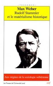 RUDOLF STAMMLER ET LE MATERIALISME HISTORIQUE