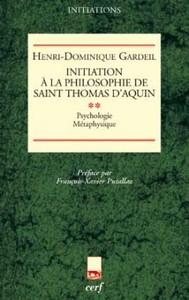 T2 INITIATION A LA PHILOSOPHIE DE SAINT THOMAS D AQUIN  II