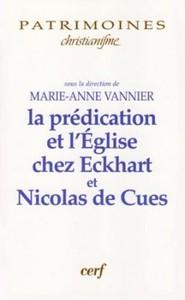 LA PREDICATION ET L EGLISE CHEZ MAITRE ECKHART ET NICOLAS DE CUES