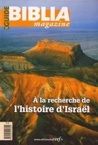 A LA RECHERCHE DE L'HISTOIRE D'ISRAEL