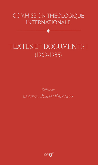 TEXTES ET DOCUMENTS I (1969-1985)