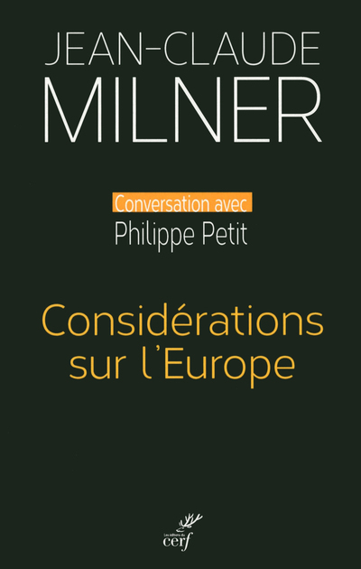 CONSIDERATIONS SUR L'EUROPE