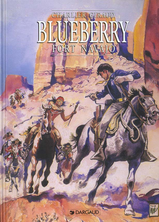 FORT NAVAJO - BLUEBERRY - T1