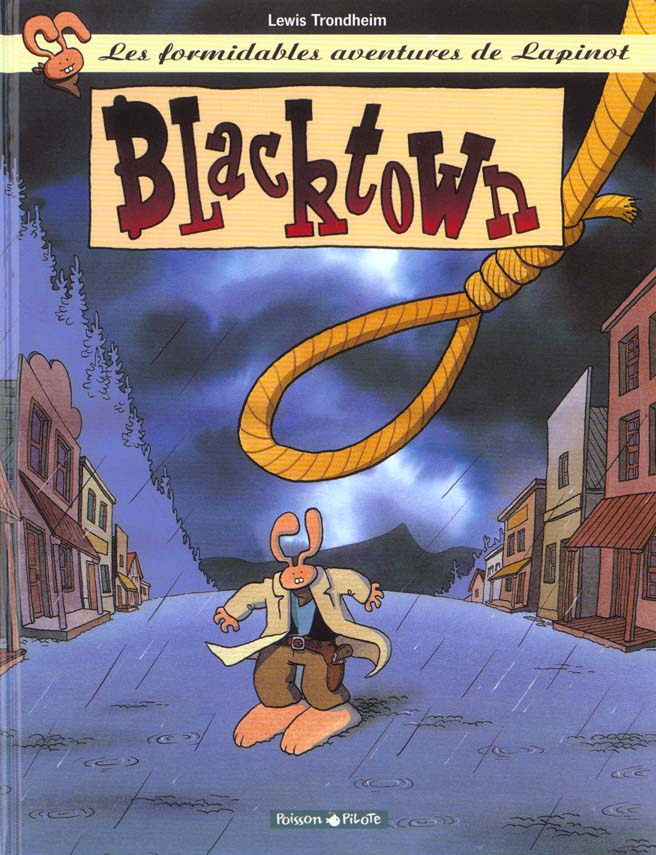 BLACKTOWN - LAPINOT (LES AVENTURES EXTRAOR - T1