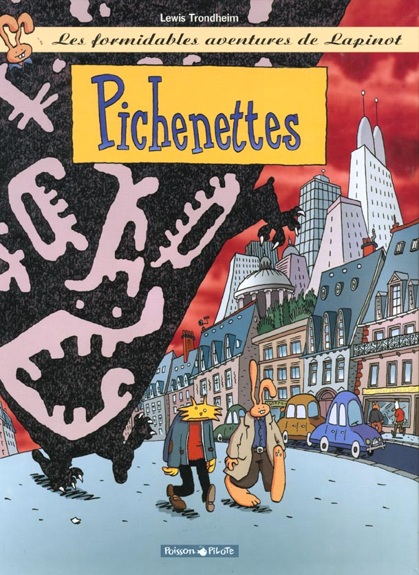 PICHENETTES - LAPINOT (LES AVENTURES EXTRAOR - T2