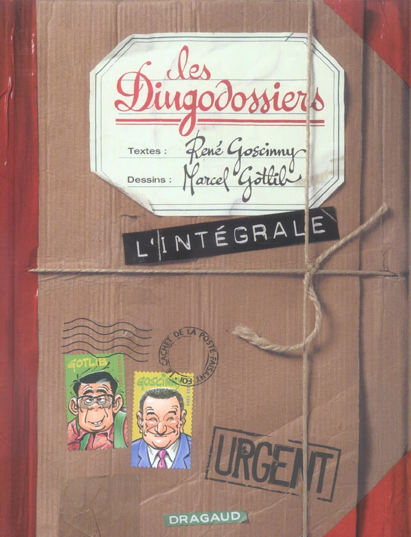 GOTLIB (INTEGRALE) - DINGODOSSIERS (LES) - INTEGRALE  - TOME 0 - DINGODOSSIERS INTEGRALE