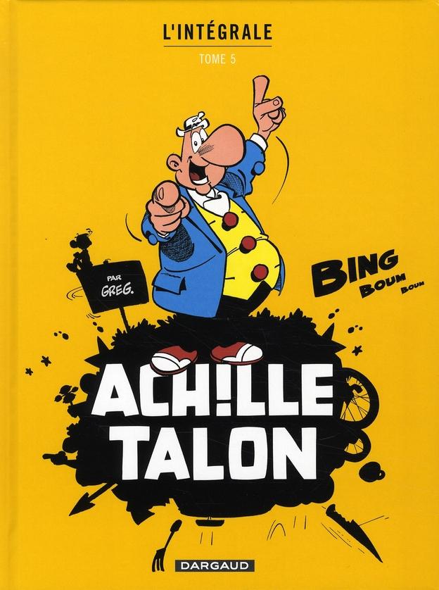 ACHILLE TALON (INTEGRALE) T5 INTEGRALE D'ACHILLE TALON T5