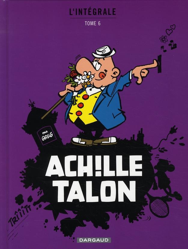 INTEGRALE ACHILLE TALON T6 - ACHILLE TALON (INTEGRALE)