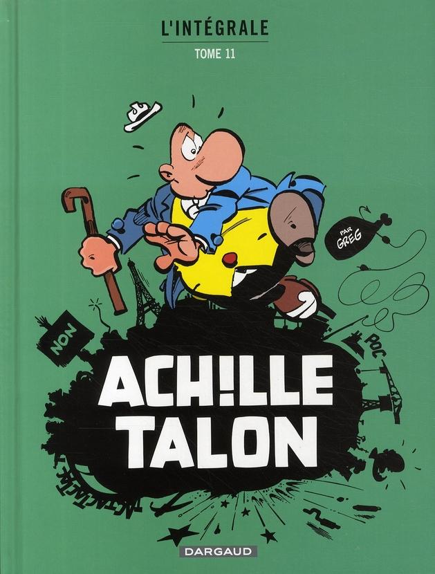 ACHILLE TALON (INTEGRALE) T11 INTEGRALE D'ACHILLE TALON T11