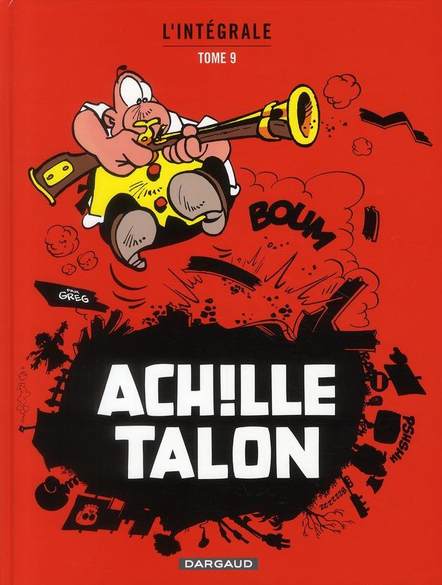 ACHILLE TALON (INTEGRALE) T9 INTEGRALE D'ACHILLE TALON T9