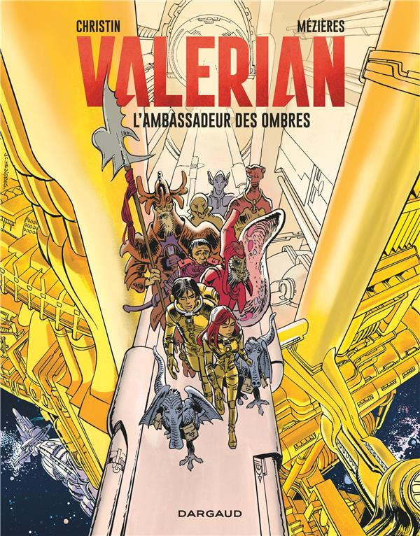 VALERIAN - TOME 6 - AMBASSADEUR DES OMBRES (L')