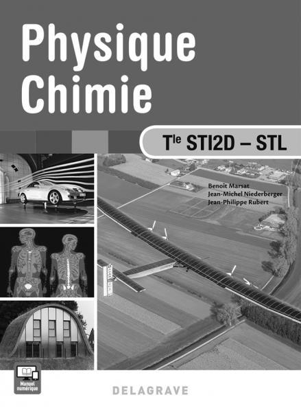 PHYSIQUE CHIMIE TLE STI2D STL PROFESSEUR