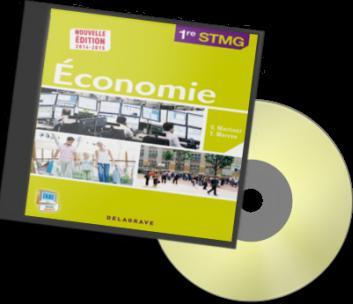 ECONOMIE 1E STMG CD ROM DU PROF