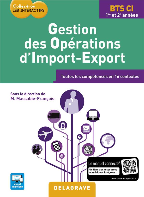 GESTION DES OPERATIONS D'IMPORT EXPORT BTS COMMERCE INTERNATIONAL ELEVE 2017