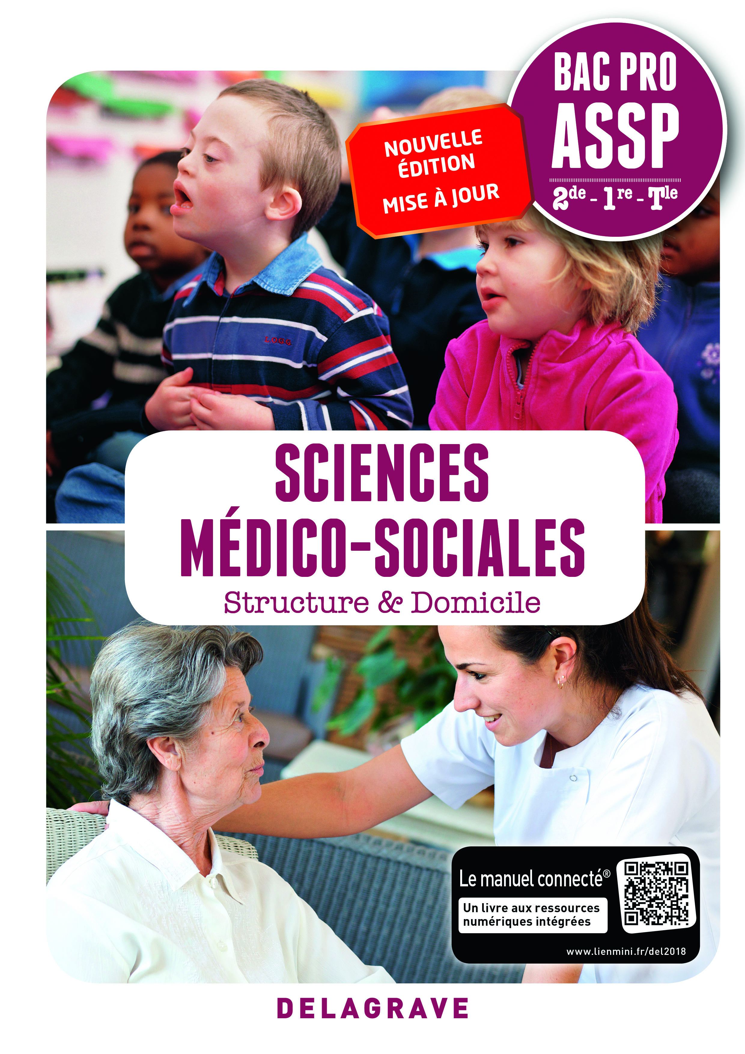 SCIENCES MEDICO-SOCIALES 2DE 1RE TLE BAC PRO ASSP (2018) - POCHETTE ELEVE