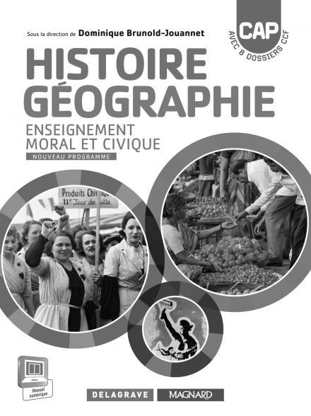 HISTOIRE GEOGRAPHIE EMC CAP PROFESSEUR 2015