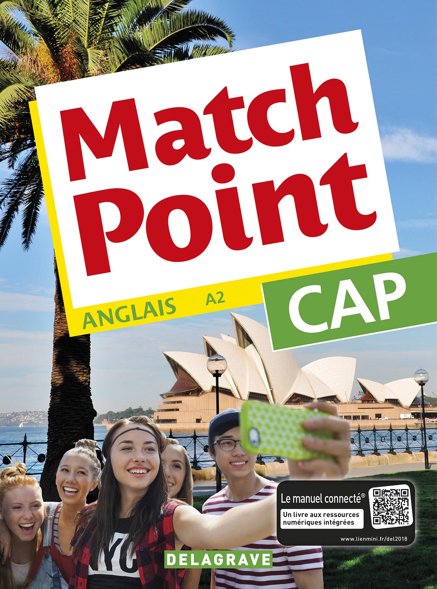 MATCH POINT CAP (2018) - POCHETTE ELEVE