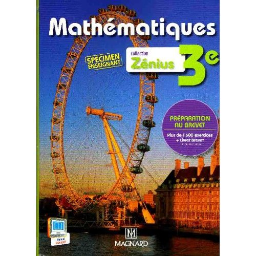 ZENIUS MATHS 3E